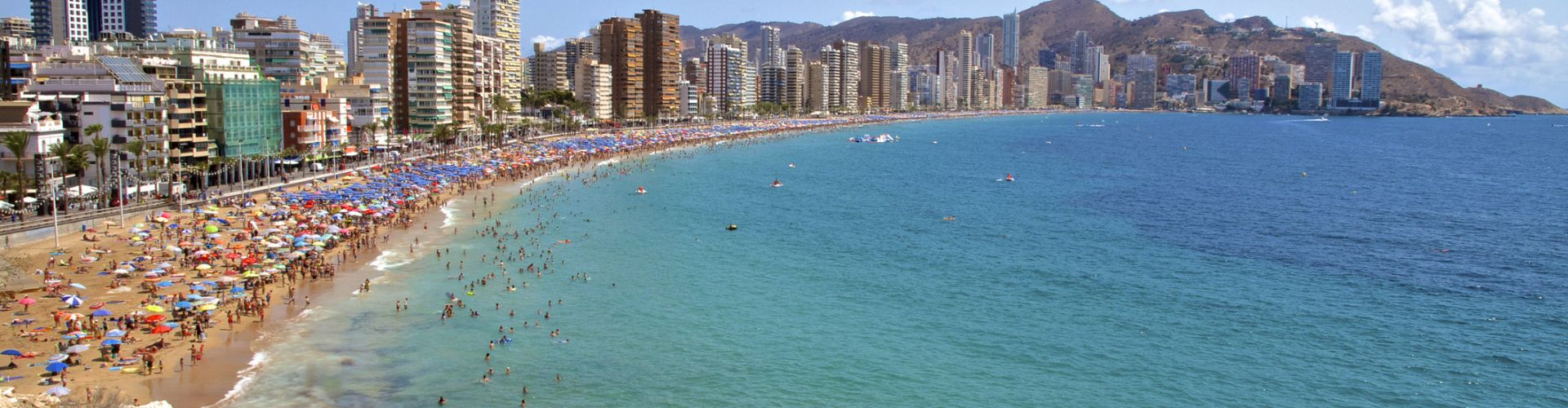 Benidorm Spain Levante Beach 492094218 2125x1417